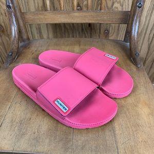 Hunter Pink Slides